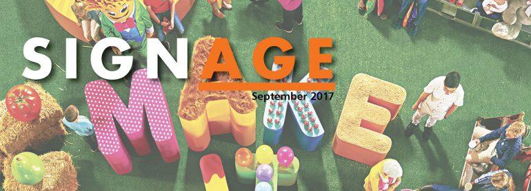 SIGNAGE Sept 2017