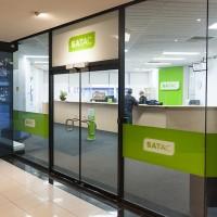 SATAC signageDesign: We're OpenProduction: Trio solutions