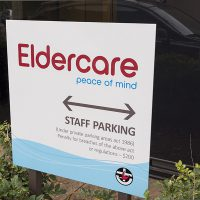 Client: EldercareProduction: Trio sign solutions