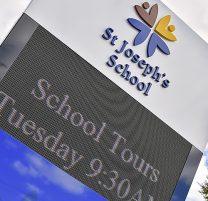 St Joseph's School Signage