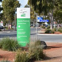 Client: City Of PlayfordDesign:  City Of PlayfordSignage: Trio sign solutions